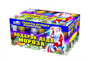 Фейерверк - Подарок Деда Мороза (118 залпов)